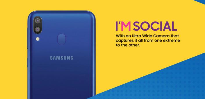 Samsung Galaxy M @ nixanbal.com