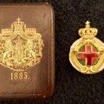 Български орден с диамантени люспи е продаден за 20 хиляди евро