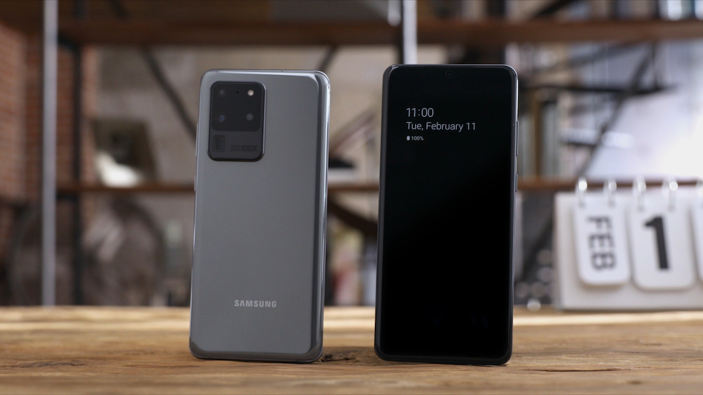 Samsung Galaxy S20 Ultra @ nixanbal.com