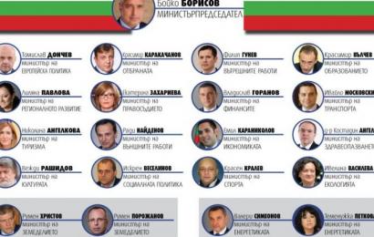 ГЕРБ правителство политици
