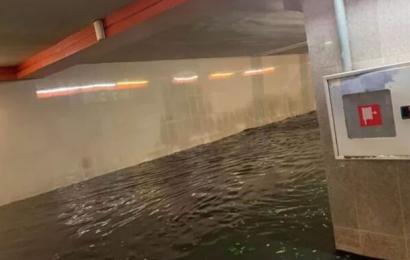Наводнение метро