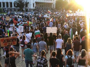 Протестът в Пловдив блокира основни булеварди