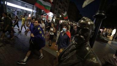 13-и ден протести пред Министерски съвет, група демонстранти обгради и