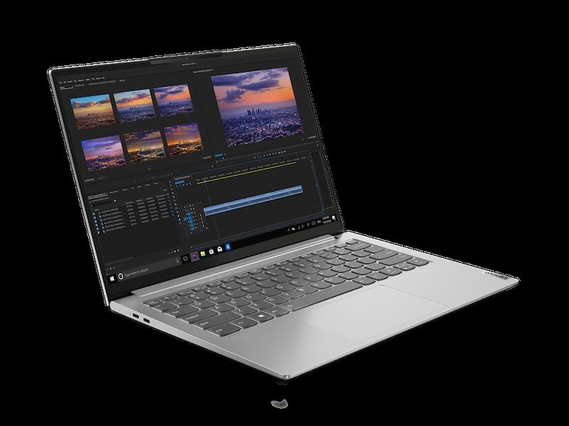 Lenovo Yoga Slim 7 Pro AMD Front Facing Right