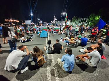 50-и ден: Протест и контрапротест