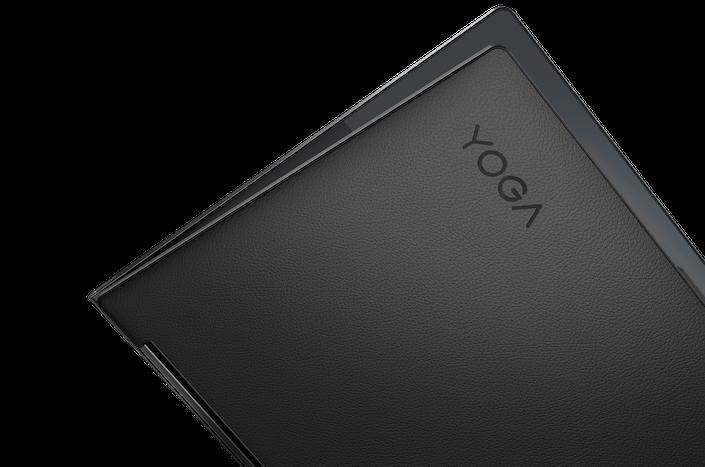 Lenovo Yoga 9i Closeup Cover Logo