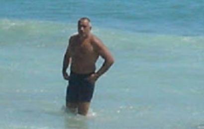 Бойко Борисов плаж