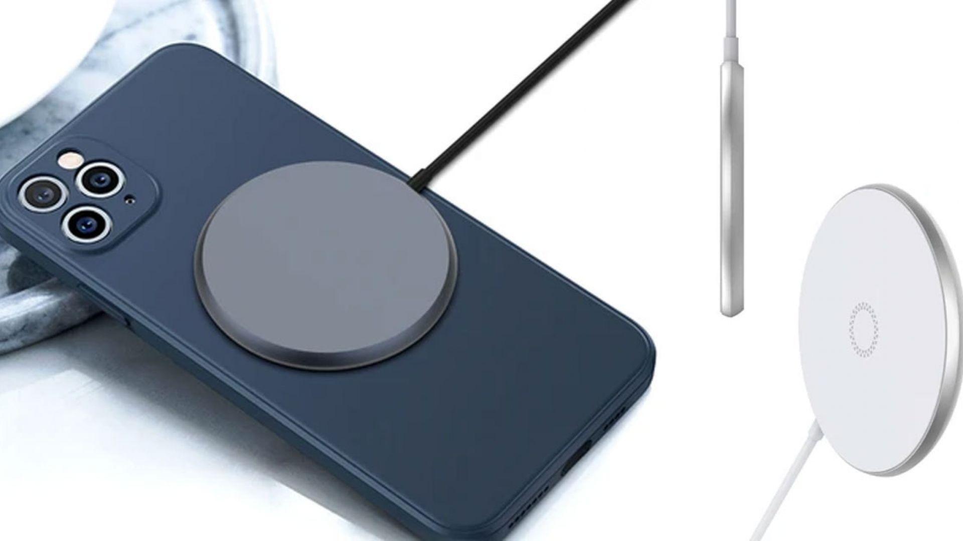 Безжичното зарядно MagSafe