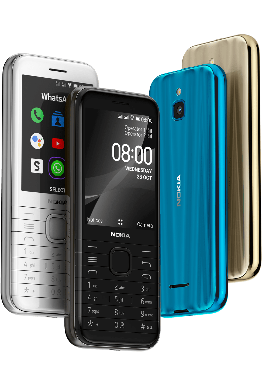 nokia 8000 4G-DESIGN devices-desktop