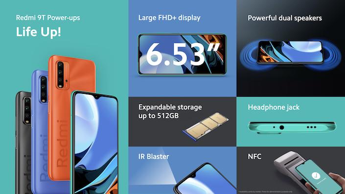 Xiaomi Redmi 9T @ nixanbal.com