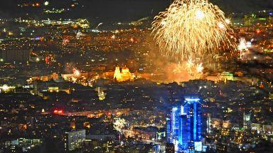 Столичани смениха баровете с Витоша: Нова година на Копитото в снимки