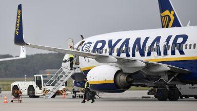Ryanair и Wizzаir отчетоха почти 100% намаление на пътниците