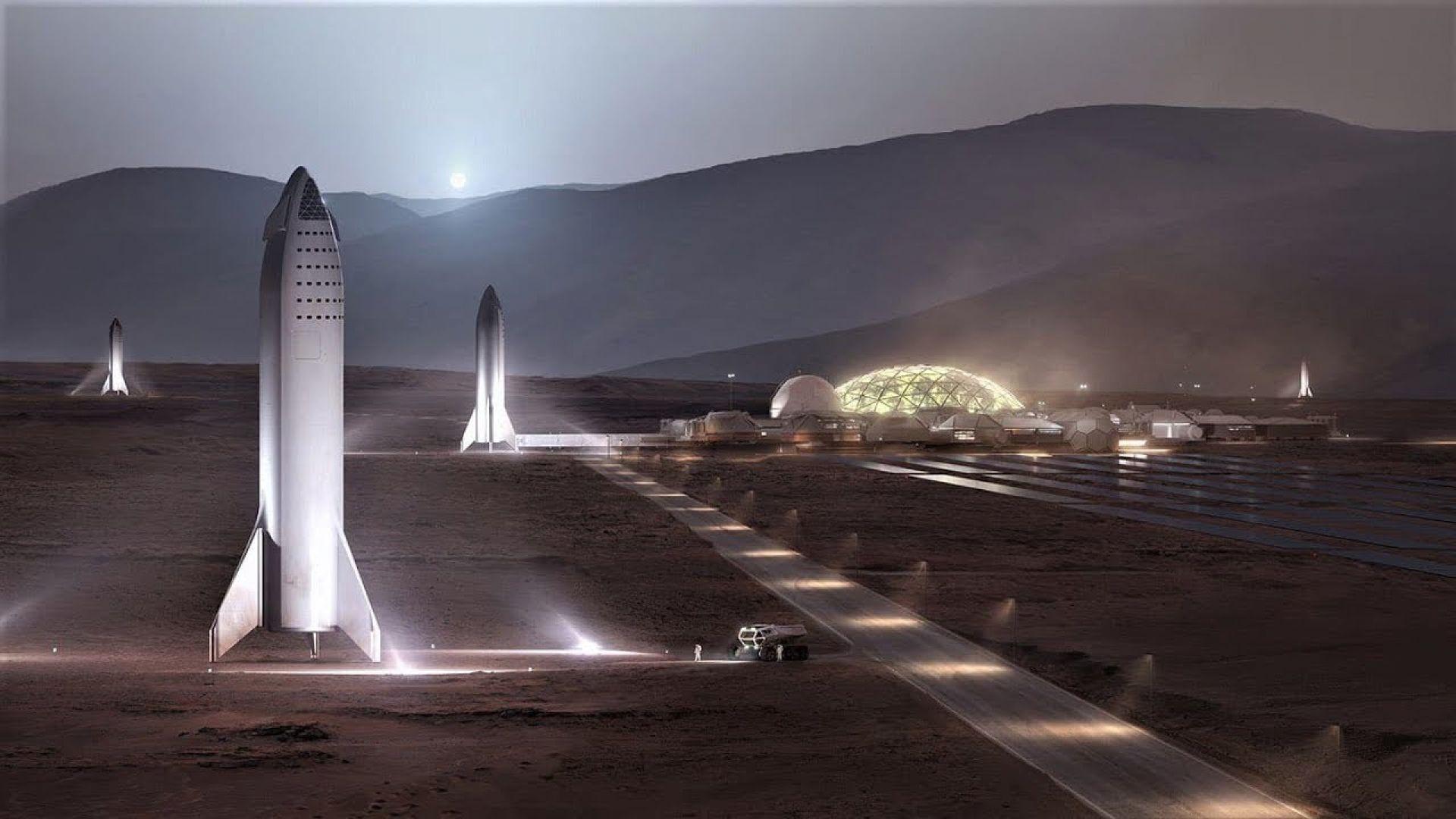 Мъск иска да направи Марс достъпен за всеки с космическия си кораб Starship