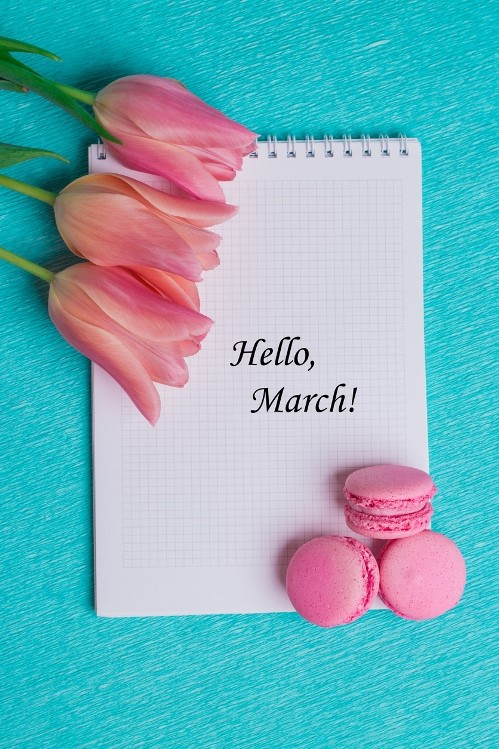 месец март