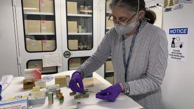 Флаконът от първата доза ваксина срещу Ковид-19, приложена в САЩ, е в музея