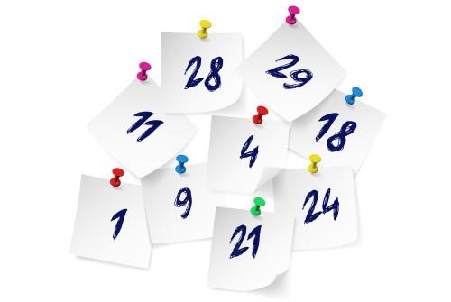 Скритите мистични послания на числата в бюлетините