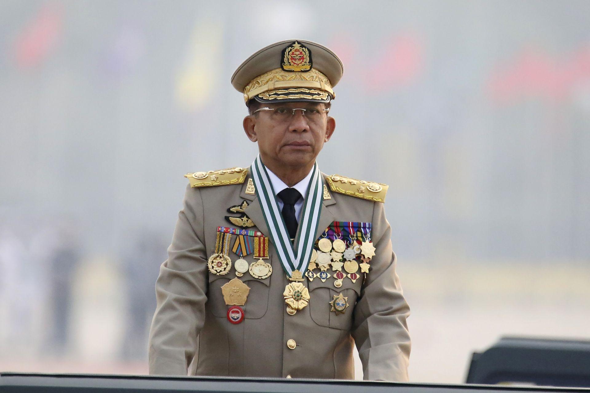 Генерал Мин Аун Хлаинг