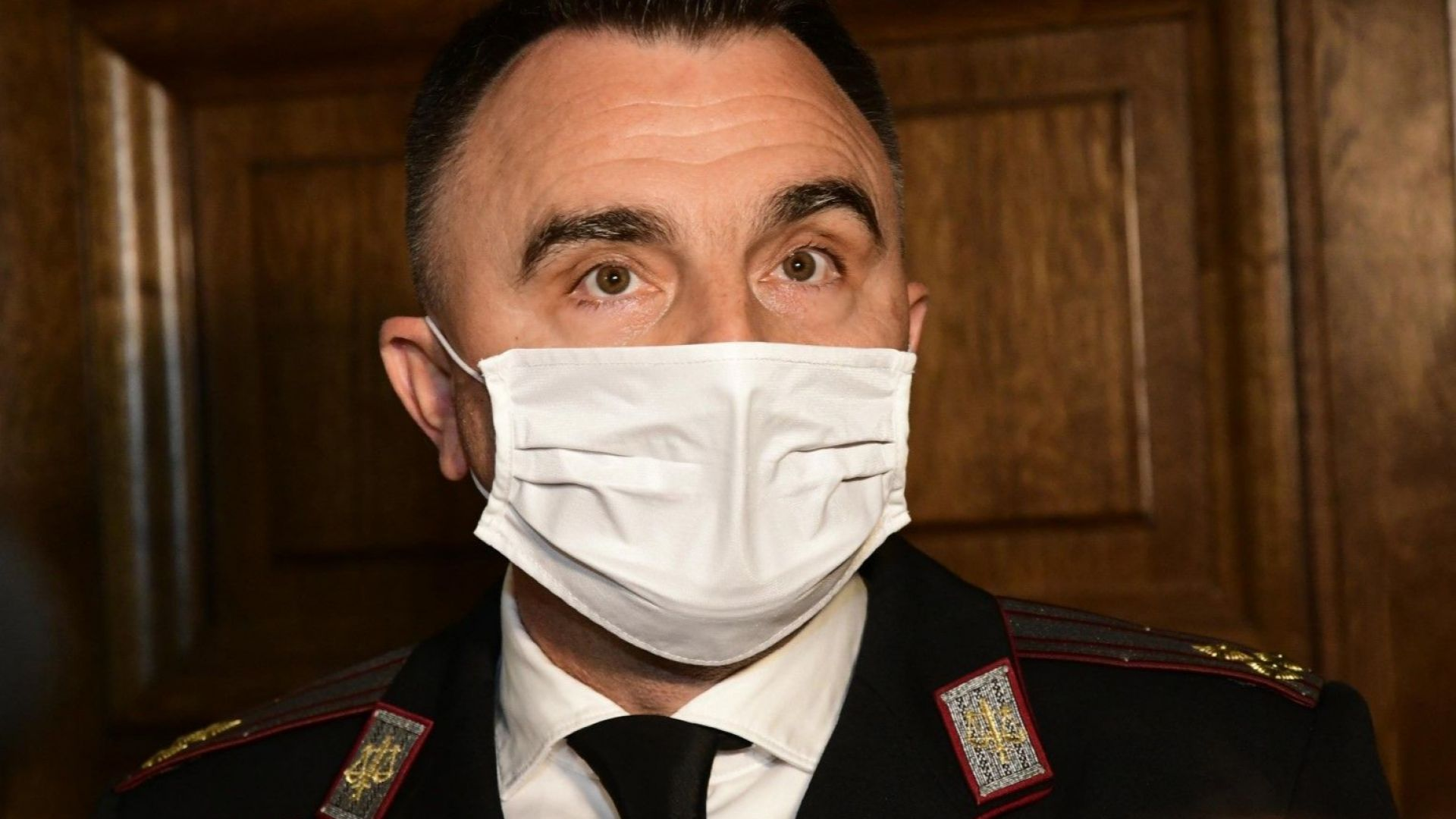 Полк. Стоян Лазаров от Военна прокуратура