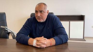 Борисов обяви министри от болницата: Не се кандидатирах за премиер, за да е мир