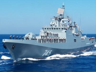 Русия вкара в Черно море 15 бойни кораба от Каспийския си флот