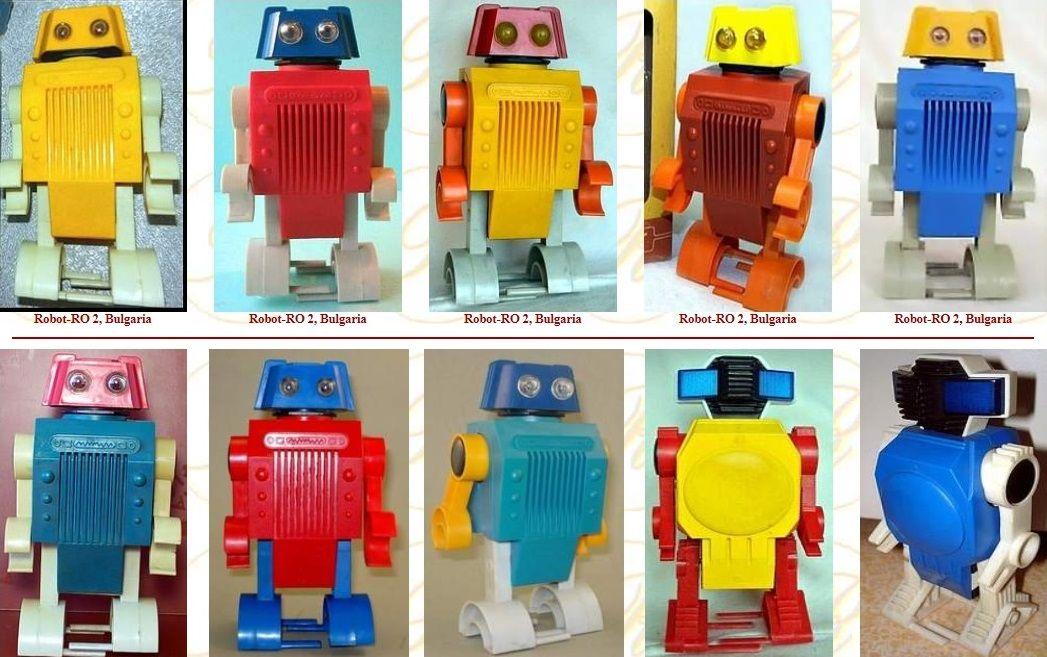 Детските роботи идват в различи цветове