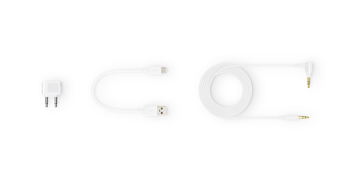 WH-1000XM4 White Supplied Items-Large