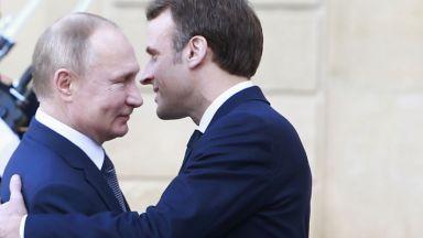 Макрон: Срещу Русия трябва да се действа