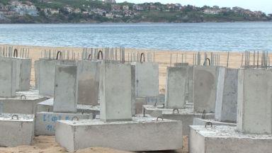Вълна от недоволство и проверка след бетон на плаж