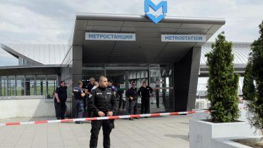 Мъжът, който простреля жена в метрото и се самоуби, е 62-годишен охранител
