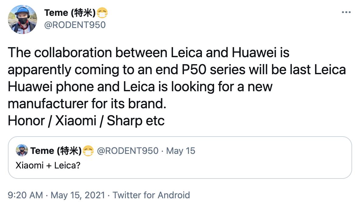 Huawei x Leica