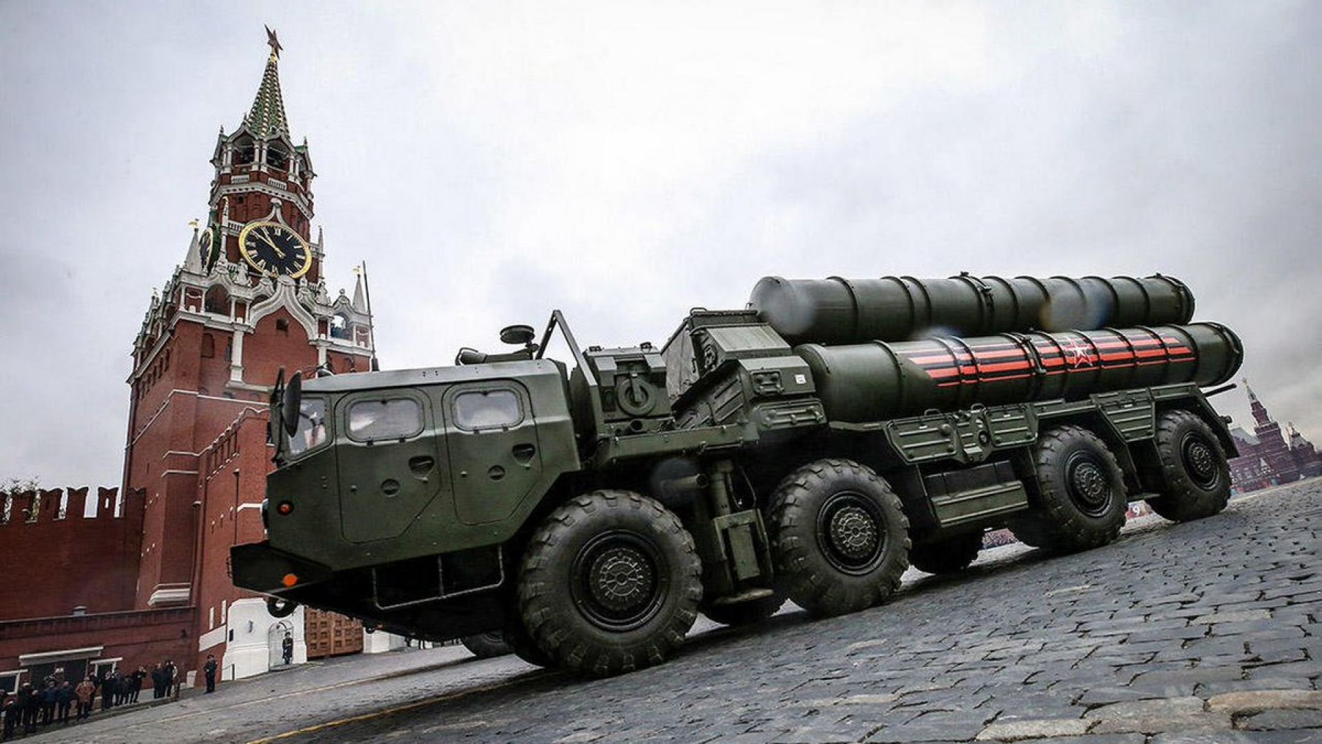 ПВО комплекс С-400