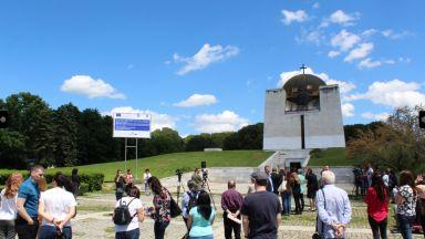 Отварят Пантеона в Русе обновен, 23-каратово злато краси купола