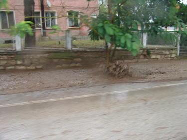 Порой потопи центъра на Велико Търново (ВИДЕО)