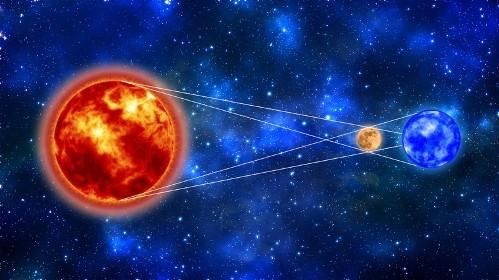 Пръстеновидно слънчево затъмнение в Близнаци
