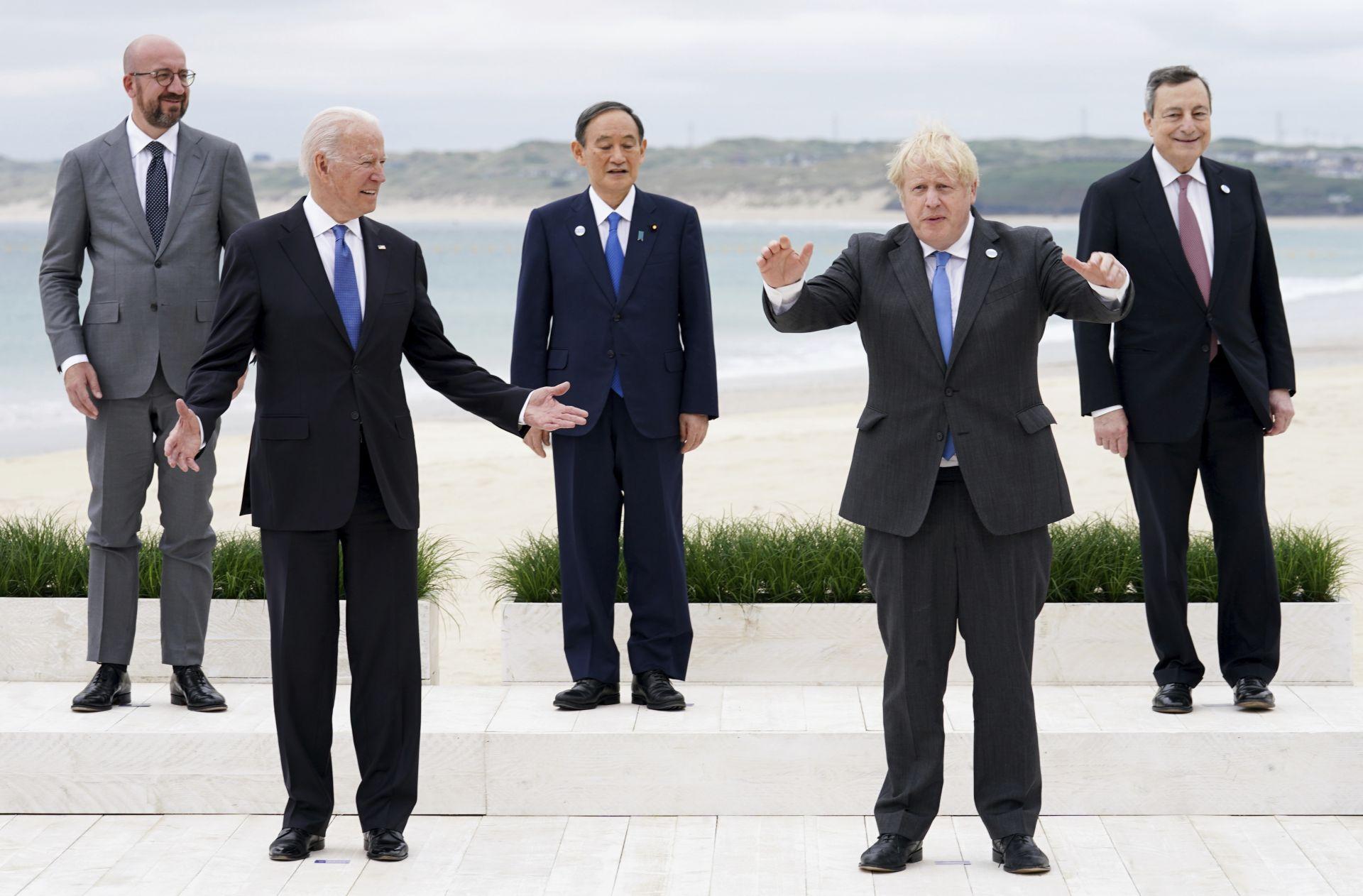 Лидерите на Г7