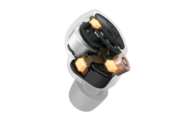 WF-1000XM4 Transparent mics-Mid