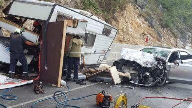 Шофьорът, убил в катастрофа двама край Пловдив - с 22 глоби за нарушения на пътя