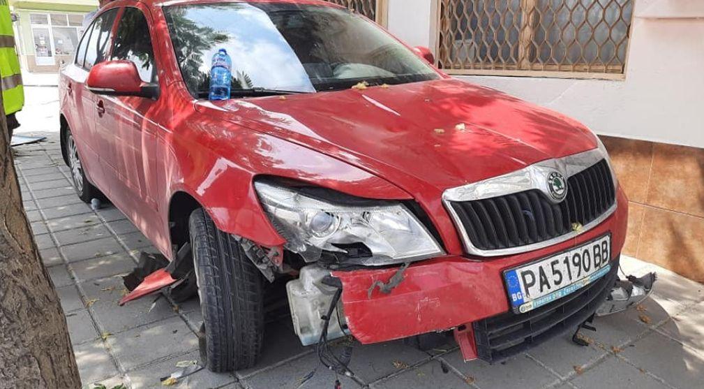 Колата, която блъсна 8-годишното момиченце