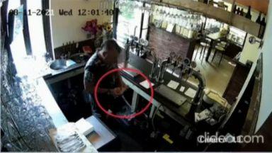 Нагъл крадец задигна голяма сума за дарения от заведение на интервю за работа
