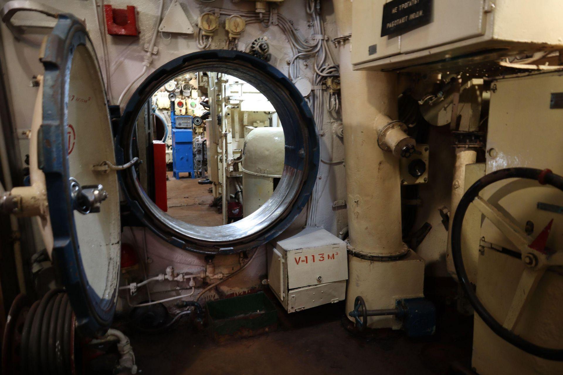 Подводницата отвътре