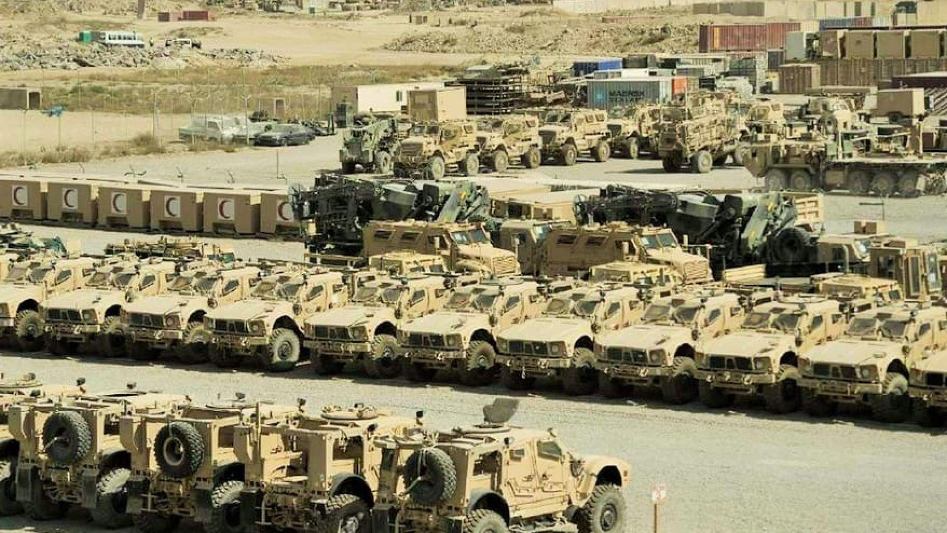 Талибаните вече разполагат с вушителен парк от пленена лека бронирана техника