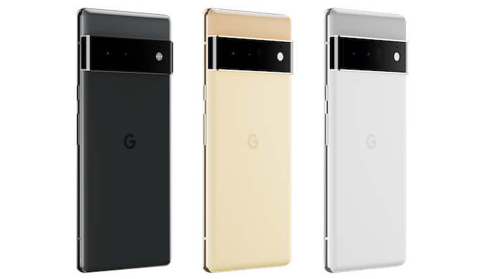 Pixel 6 Pro Group Image  Transparent