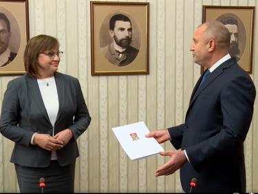 БСП върна неизпълнения мандат на президента (ВИДЕО)
