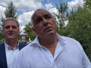 Борисов: Всичко зависи само от диктатора Радев!