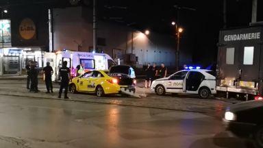 Патрулка преследва такси в зрелищна гонка в София