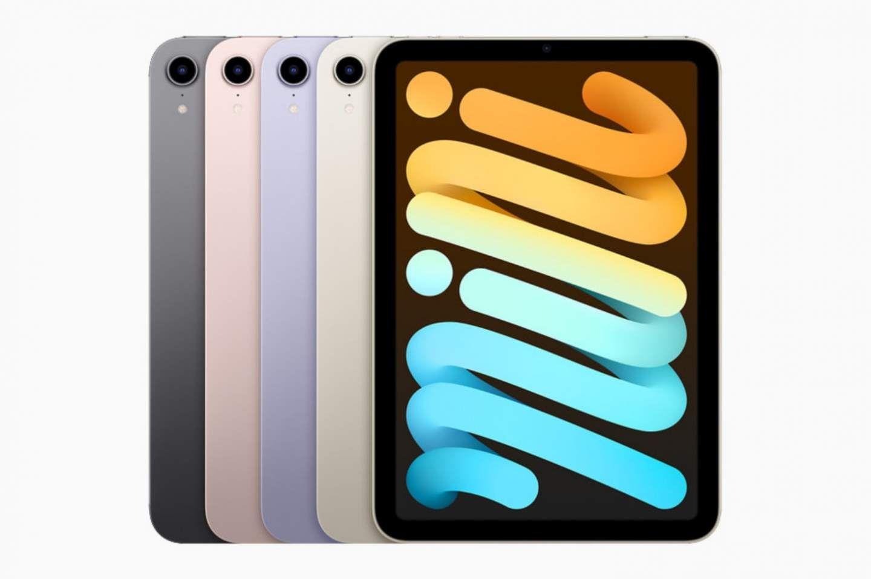 Цветовата гама на iPad mini