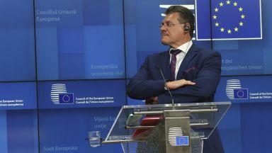 Шефчович: Токът и газът са скъпи заради икономическото възстановяване