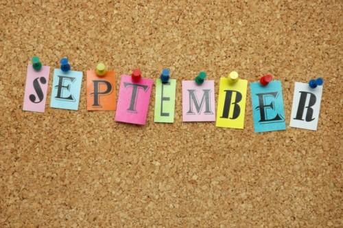 септември