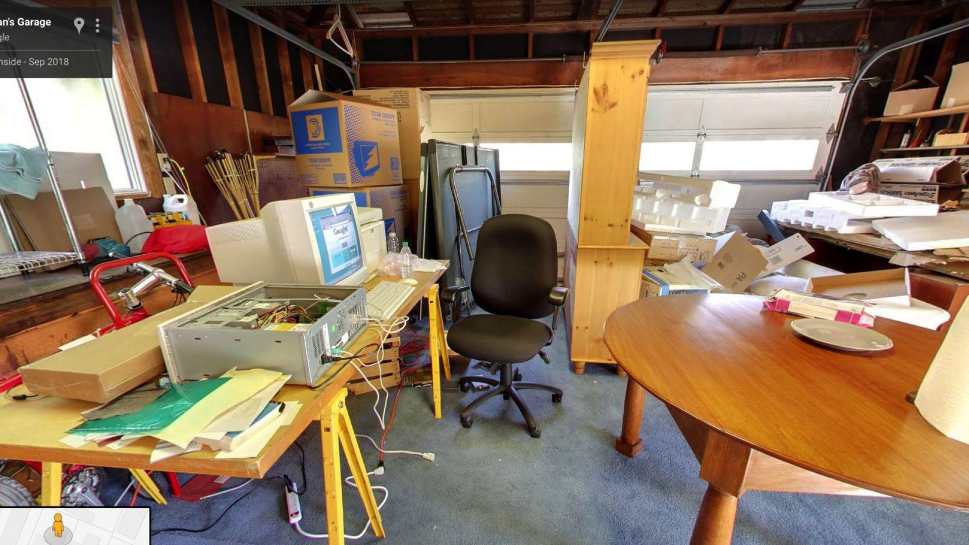 Първият офис на Google