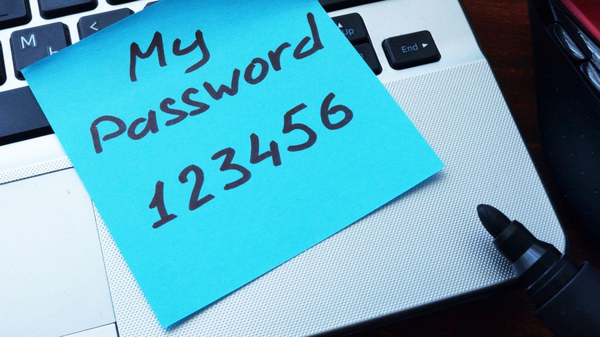 Лесните пароли водят до стотици милиони успешни кибер престъпления всяка година
